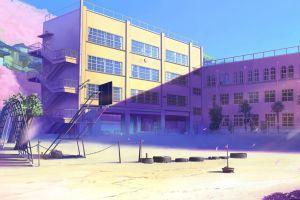 5 centimeters per second anime summer fantasy art