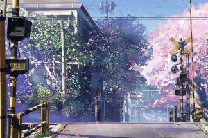 5 centimeters per second train anime crossroads