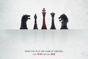 a song of ice and fire chess game of thrones typography