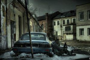 abandoned poland s.t.a.l.k.e.r. gas masks urbex