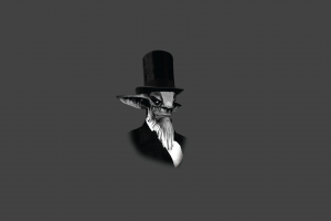 abraham lincoln hat simple background monochrome