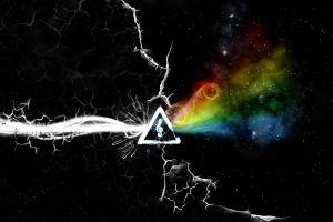 abstract digital art music