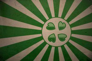 abstract green heart 4chan circle artwork