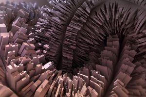 abstract render blender digital art cgi