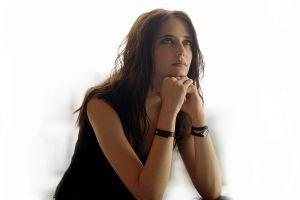 actress celebrity eva green women looking up