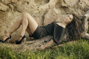 actress women legs megan fox brunette model high heels