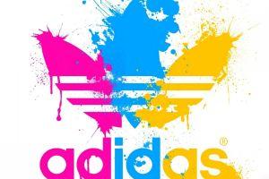 adidas paint splatter cmyk