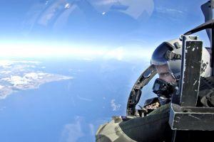 aerial view aircraft pilot vehicle sky