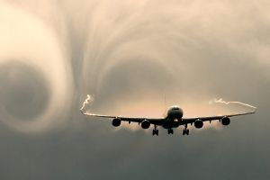 airbus airplane contrails aircraft