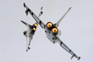 aircraft military aircraft eurofighter typhoon