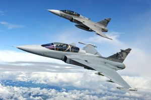 aircraft sky vehicle jas-39 gripen airplane military military aircraft