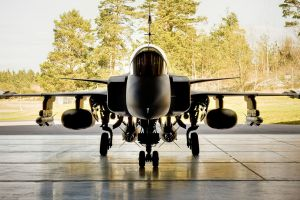 aircraft vehicle military aircraft sky airplane jas-39 gripen military