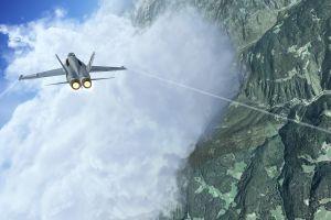 airplane mcdonnell douglas f/a-18 hornet video games