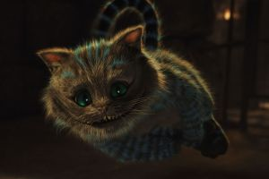 alice in wonderland animals fantasy art cheshire cat