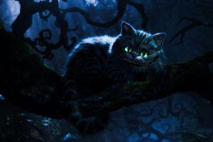 alice in wonderland cheshire cat cats