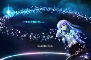 angel beats! anime anime girls tachibana kanade