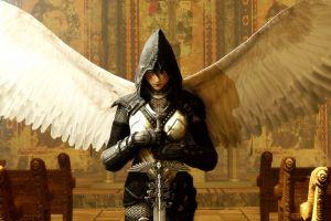 angel fantasy girl fantasy art
