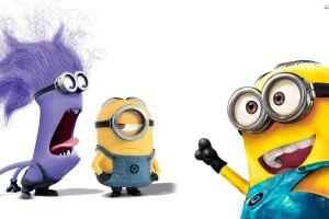 animated movies movies simple background minions