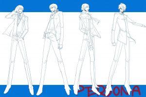 anime anime boys persona series