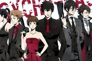 anime anime girls anime boys psycho-pass shinya kogami tsunemori akane