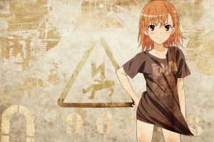 anime anime girls to aru kagaku no railgun misaka mikoto
