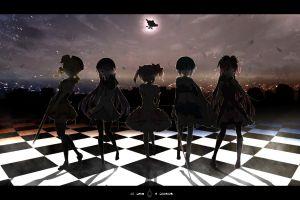 anime anime girls tomoe mami akemi homura kaname madoka mahou shoujo madoka magica miki sayaka sakura kyoko