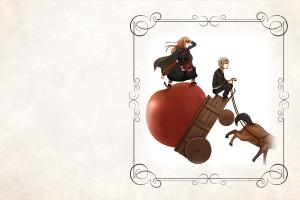 anime apples holo lawrence kraft okamimimi spice and wolf