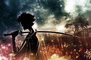 anime boys warrior anime samourai champloo samurai champloo