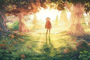 anime drawing fantasy art anime girls