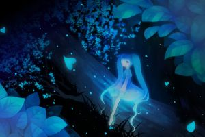 anime fantasy art anime girls hatsune miku vocaloid
