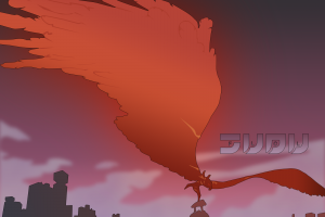 anime flcl wings