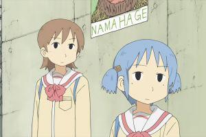 anime girls anime naganohara mio nichijou aioi yuuko