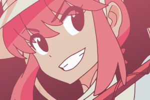 anime girls kill la kill anime vectors jakuzure nonon anime