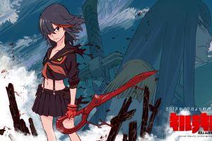 anime girls matoi ryuuko kill la kill anime