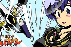 anime girls video games crossover persona series tengen toppa gurren lagann