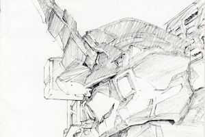 anime gundam drawn mobile suit gundam unicorn