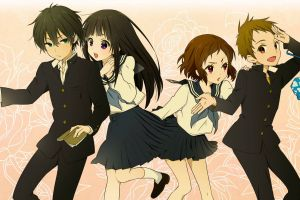 anime hyouka anime girls