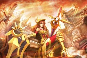 anime league of legends leona (league of legends)