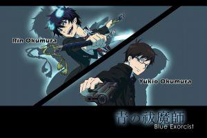 anime okumura yukio okumura rin anime boys blue exorcist