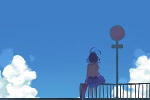 anime school uniform anime girls