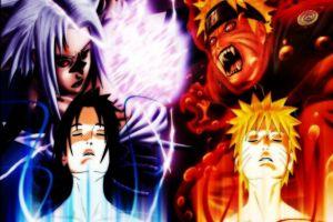 anime uchiha sasuke anime boys naruto shippuuden uzumaki naruto kyuubi