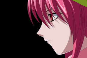 anime vectors nyu elfen lied anime girls simple background anime