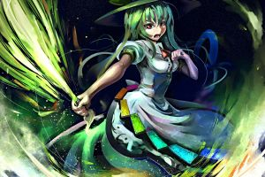 anime witch touhou anime girls