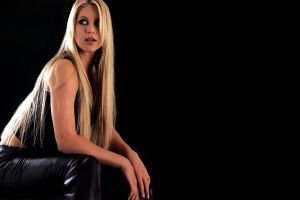 anna kournikova long hair blonde women celebrity