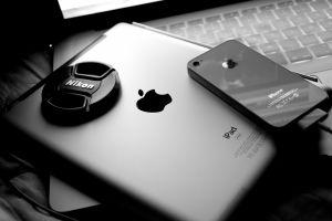 apple inc. macbook monochrome iphone ipad technology nikon