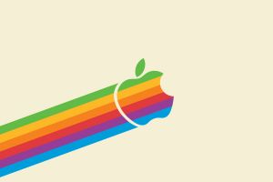 apple inc. minimalism simple background