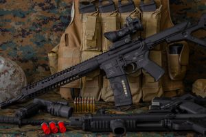 ar-15 magpul weapon shotgun