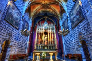 architecture hdr church