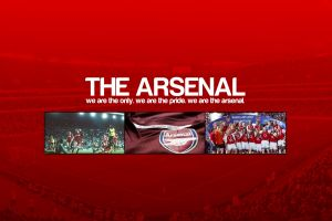 arsenal london red background soccer