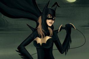 artwork batgirl superheroines batwoman